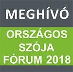 ORSZÁGOS SZÓJA FÓRUM 2018
